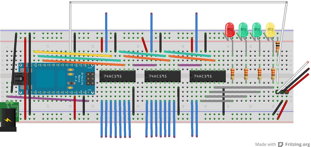 Textuhr auf arduino basis